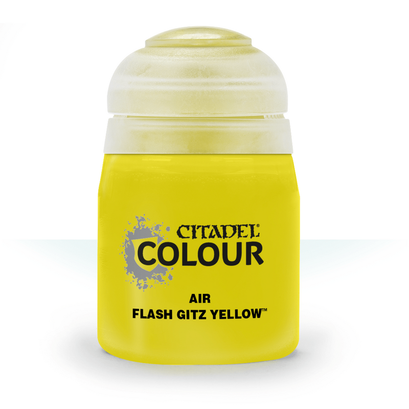 AIR: FLASH GITZ YELLOW (24ML) - Citadel Painting Supplies - The Hooded Goblin