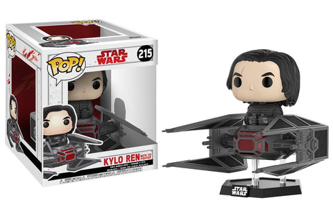 Pop! Starwars Kylo Ren with the Fighter