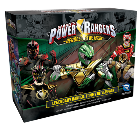Power Rangers Hero's of the Grid: Legendary Ranger Tommy Oliver Pack
