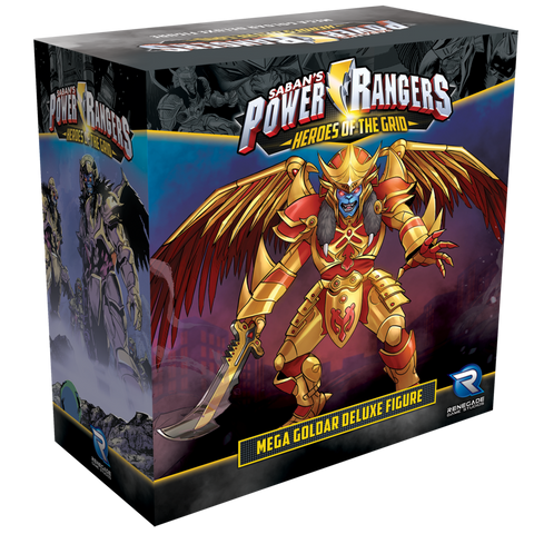 Power Rangers Hero's Of The Grid: Mega Goldar Deluxe Figure