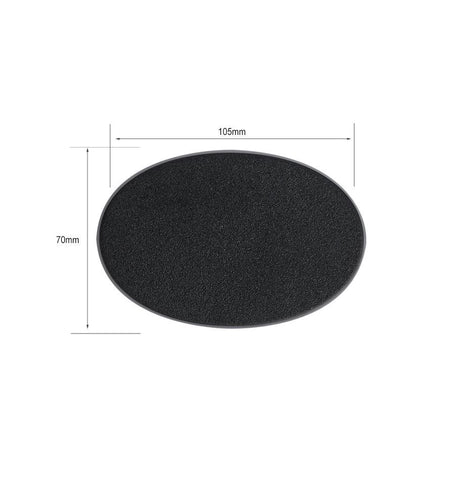 Oval Base 105x70mm