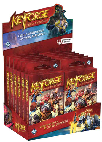 KEYFORGE : CALL OF THE ARCHONS - ARCHON DECK DISPLAY