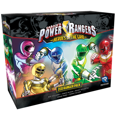 Power Rangers Heros of the Grid: Zeo Ranger Pack