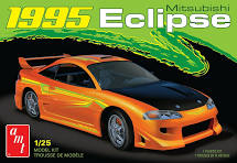 AMT 1995 Mitsubishi Eclipse 1:25 Scale Model Kit - Model Kit - The Hooded Goblin