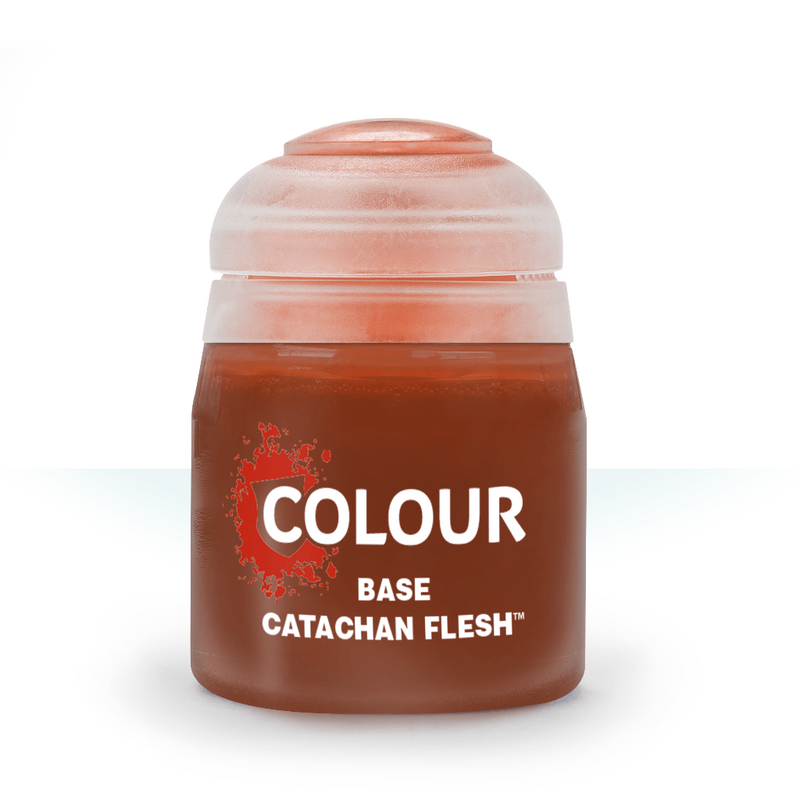 BASE: CATACHAN FLESHTONE (12ML) - Citadel Painting Supplies - The Hooded Goblin