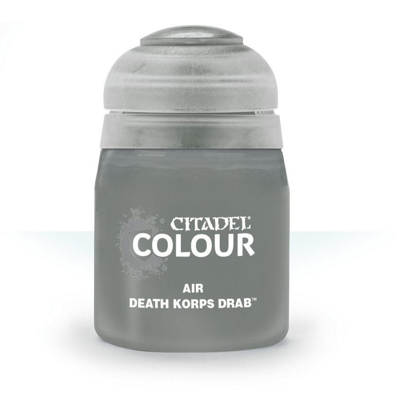 Air: Death Korps Drab (24Ml) - Citadel Painting Supplies - The Hooded Goblin