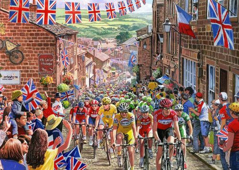 Le Tour de Yorkshire - 1000pc Jigsaw Puzzle by Gibsons