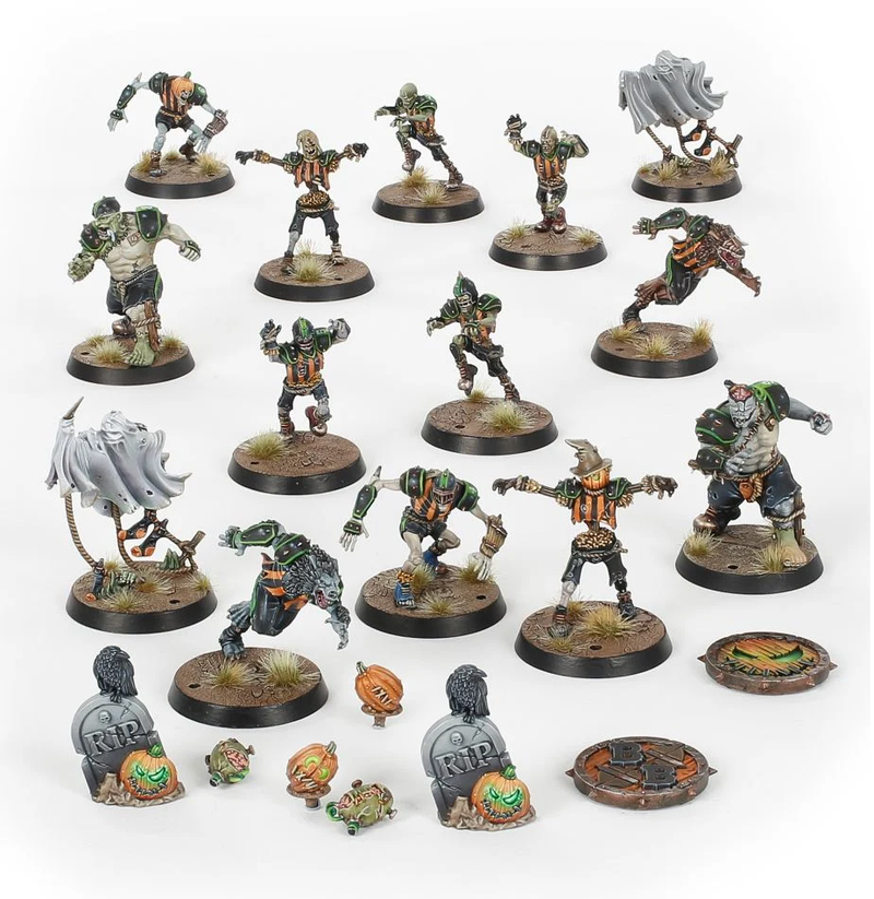 Necromantic Horror Blood Bowl Team: The Wolfenburg Crypt-Stealers - Warhammer: 40k - The Hooded Goblin