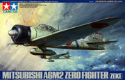 Mitsubishi A6M2 Zero Fighter (Zeke) Item No: 61016 1/48 Aircraft Series No.16 - Model Kit - The Hooded Goblin