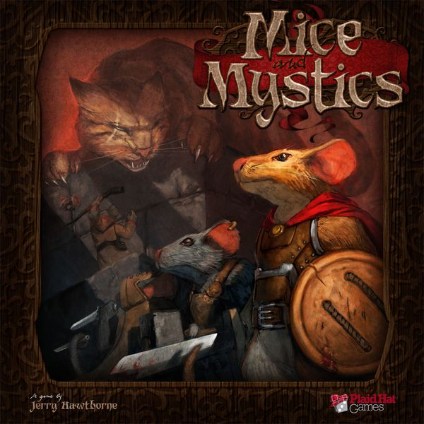 Mice & Mystics - Board Game - The Hooded Goblin