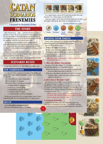 Catan Scenarios Frenemis