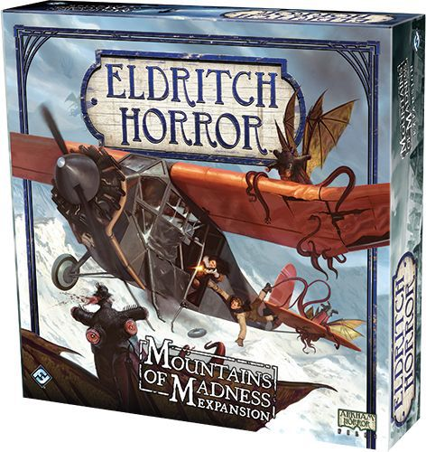 Eldritch Horror Mountain Of Madness - Board Game - The Hooded Goblin