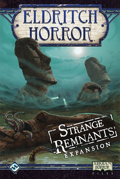 Eldritch Horror Strange Remnants Expansion - Board Game - The Hooded Goblin