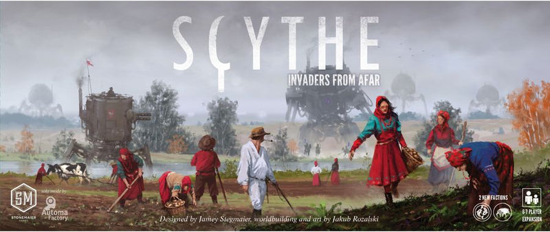 Scythe: Invaders from Afar - Board Game - The Hooded Goblin