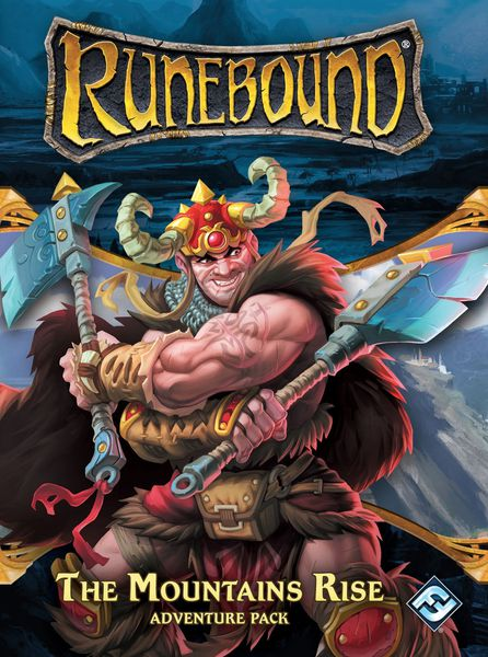 Runebound The Mountain Rise - Board Game - The Hooded Goblin
