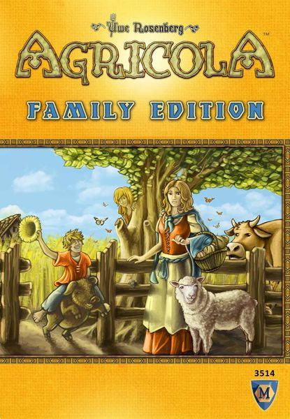 Agricola Family Edition - Board Game - The Hooded Goblin