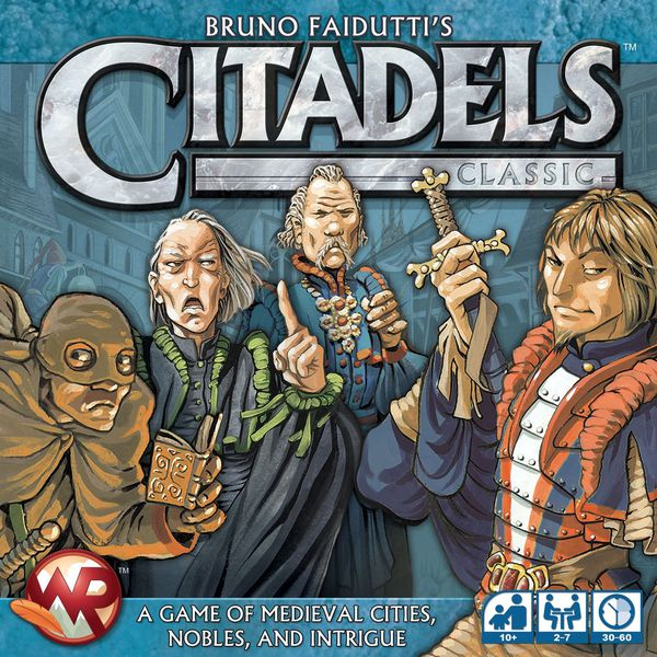 Citadels - Board Game - The Hooded Goblin