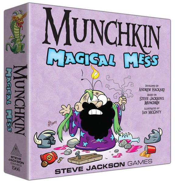 Munchkin Magical Mess - Board Game - The Hooded Goblin