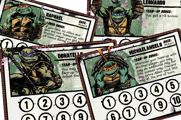 Munchkin Teenage Mutant Ninja Turtles - Board Game - The Hooded Goblin