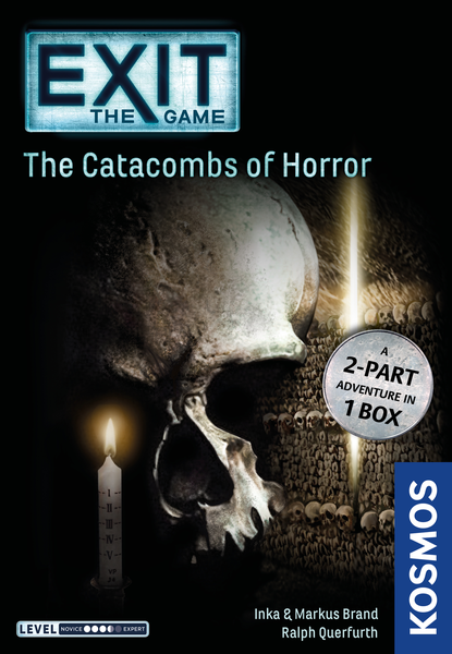 Exit: The Game – The Catacombs Of Horror (2018) - Board Game - The Hooded Goblin