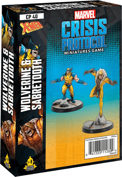 Marvel: Crisis Protocol – Wolverine & Sabertooth - Marvel Crisis Protocol - The Hooded Goblin