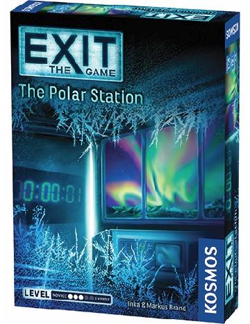 EXIT THE GAME - THE POLAR STATION - Board Game - The Hooded Goblin