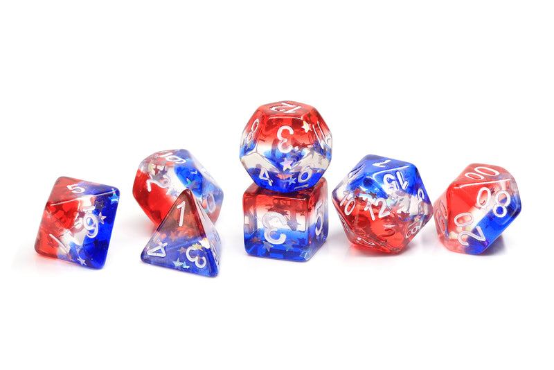 SD STAR SPANGLED BANNER 7-DIE SET (80) - Dice - The Hooded Goblin