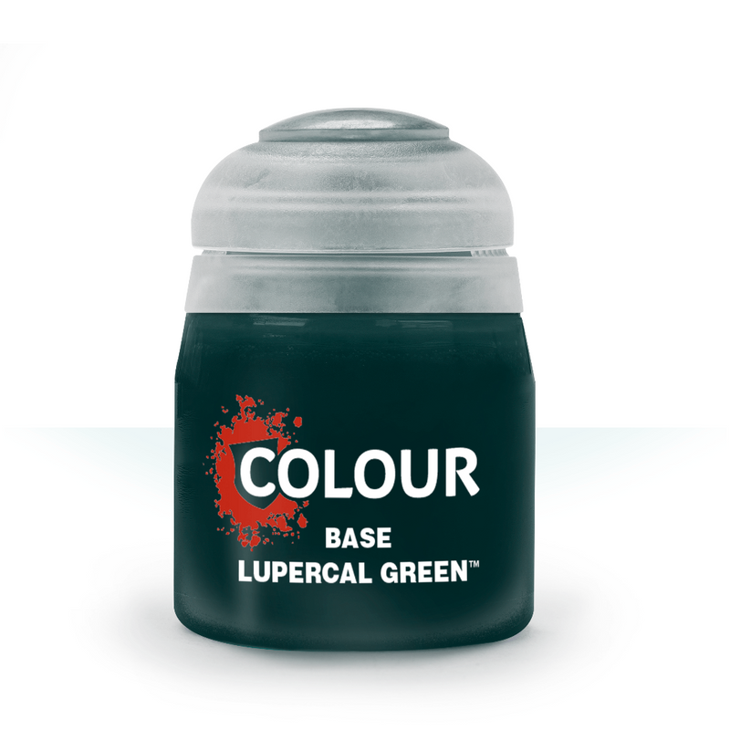 BASE: LUPERCAL GREEN (12ML) - Citadel Painting Supplies - The Hooded Goblin