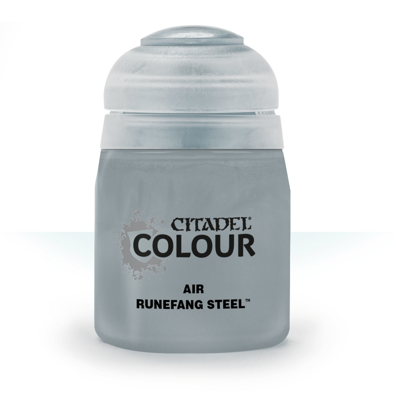 AIR: RUNEFANG STEEL (24ML) - Citadel Painting Supplies - The Hooded Goblin