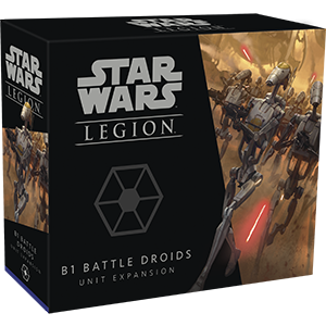 B1 Battle Droids Unit Expansion - Star Wars Legion - The Hooded Goblin