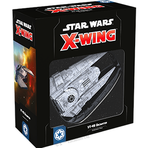VT-49 Decimator Expansion Pack - X-Wing - The Hooded Goblin