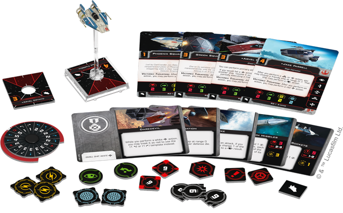 RZ-1 A-Wing Expansion Pack - X-Wing - The Hooded Goblin