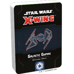 Star Wars X-Wing 2.0: GALACTIC EMPIRE DAMAGE DECK