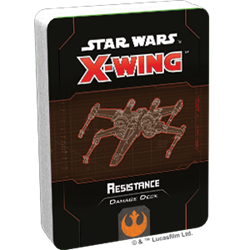 Star Wars X-Wing 2.0: RESISTANCE DAMAGE DECK