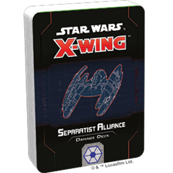 Star Wars X-Wing 2.0: SEPARATIST DAMAGE DECK