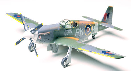 North American RAF Mustang™ III Item No: 61047 1/48 Aircraft Series No.47 - Model Kit - The Hooded Goblin