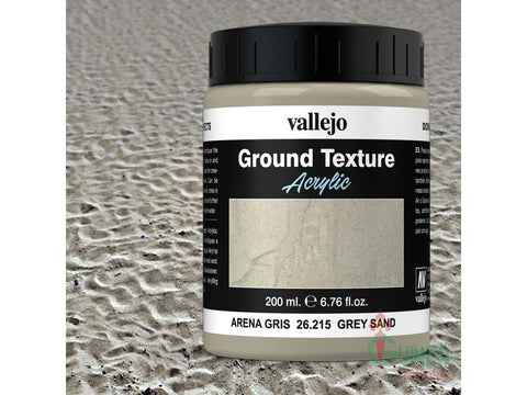 Vallejo Diorama Effect - Grey Sand - Ground Texture 26215