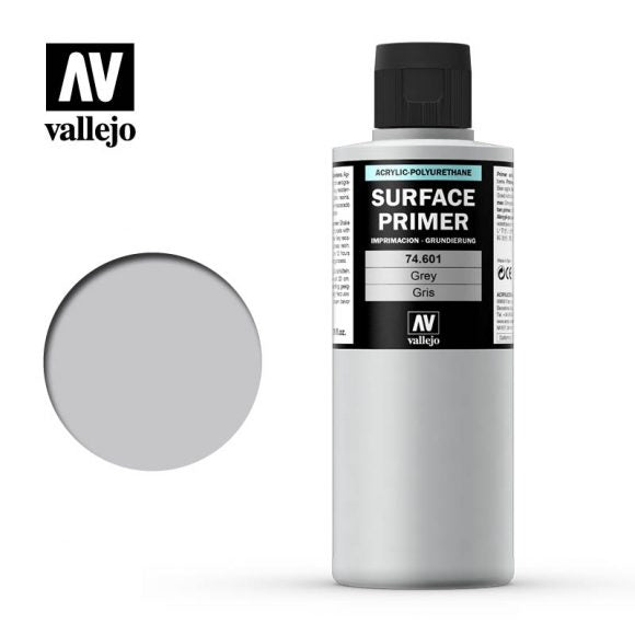 Surface Primer - Grey 200ml - Painting Supplies - The Hooded Goblin
