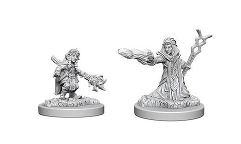 DND UNPAINTED MINIS WV6 FEMALE GNOME WIZARD