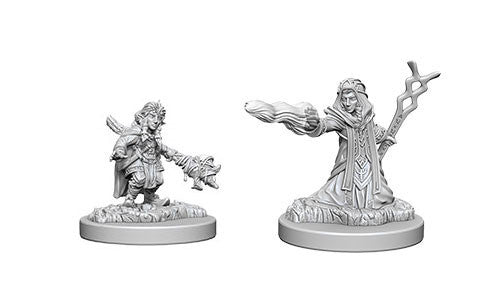 Dnd Unpainted Minis Wv6 Female Gnome Wizard - Dungeons and Dragons - The Hooded Goblin