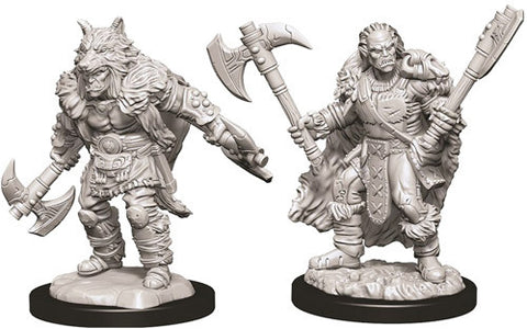 D&D Nolzur's Marvelous Unpainted Miniatures: Male Half-Orc Barbarian