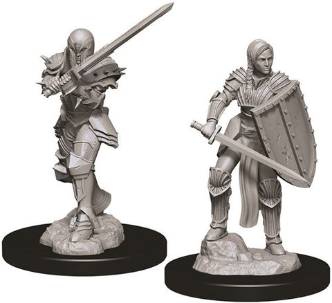 D&D Nolzur's Marvelous Unpainted Miniatures: Female Human Fighter