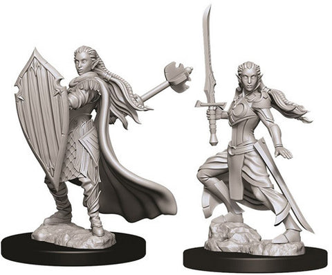 D&D Nolzur's Marvelous Unpainted Miniatures: Female Elf Paladin
