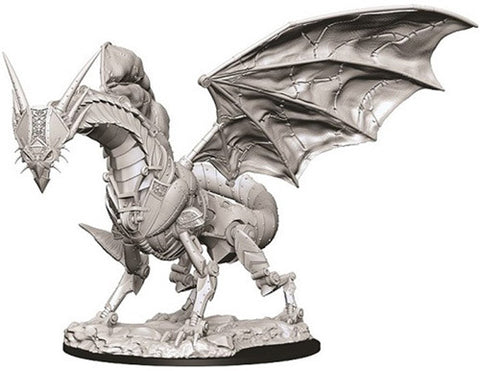 Pathfinder Battles Deep Cuts Unpainted Miniatures: Clockwork Dragon