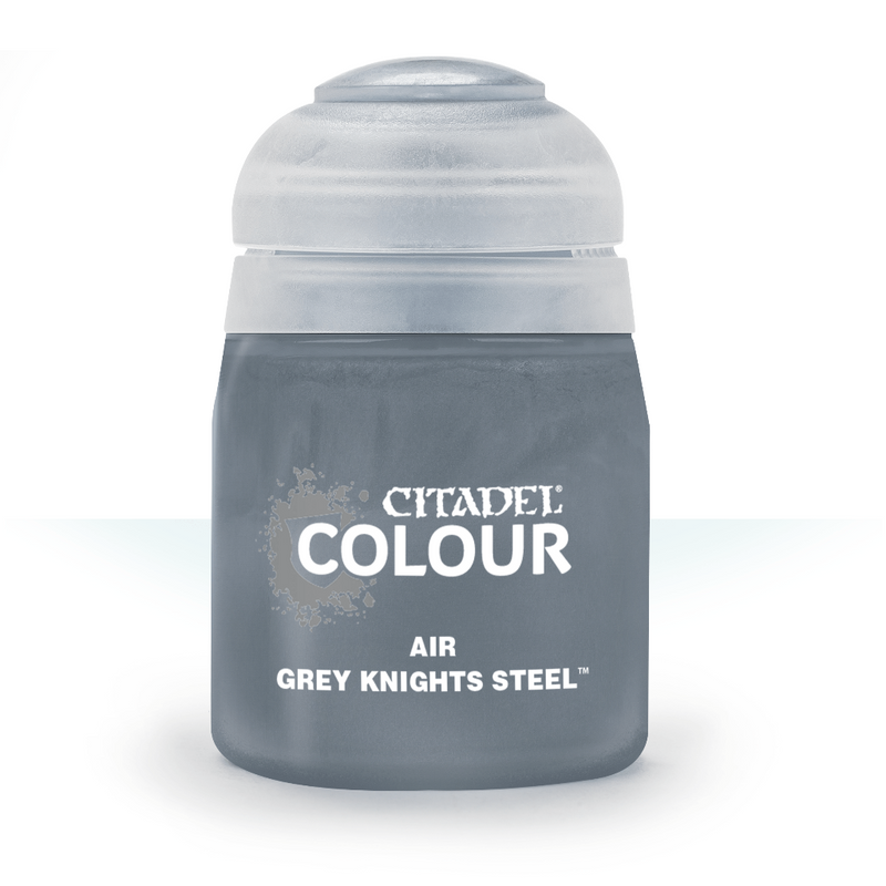 Air: Grey Knights Steel (24Ml) - Citadel Painting Supplies - The Hooded Goblin