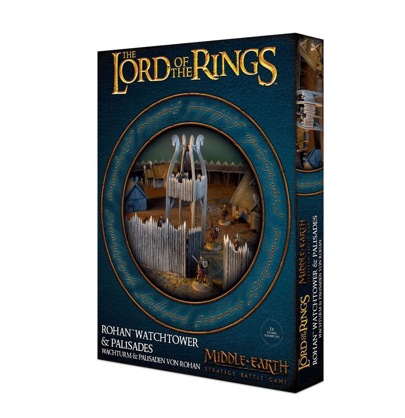 Lord of The Rings: Rohan Watchtower & Palisades