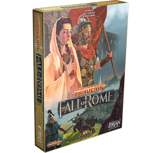 PANDEMIC: FALL OF ROME - Board Game - The Hooded Goblin