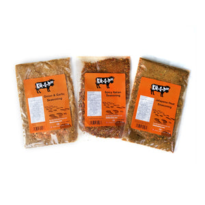 Sampler Pack - 3 signature seasonings! Flavour 15 lbs of meat! FREE SHIPPING IN CANADA!!!