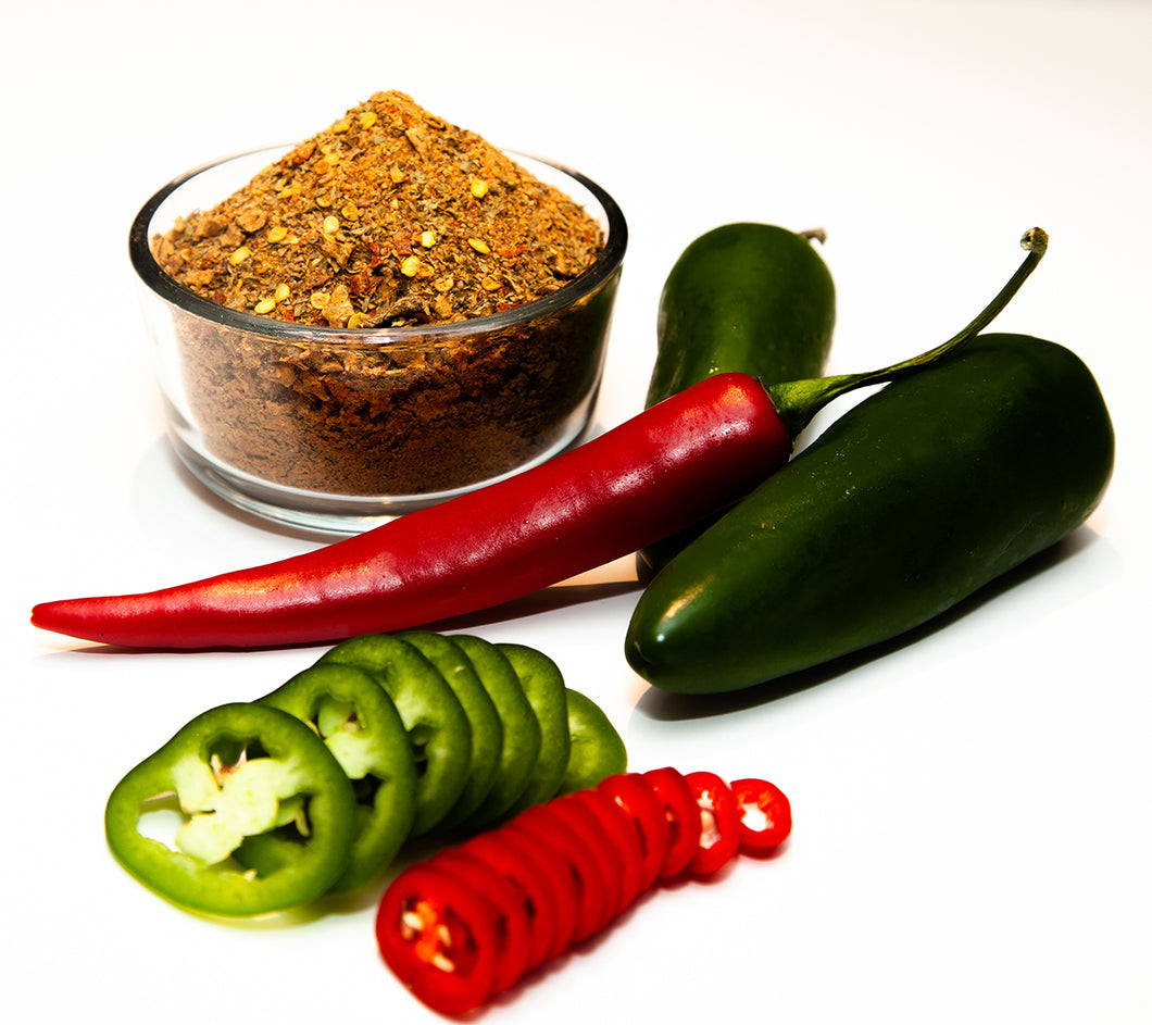 Jalapeno Heat Seasoning - Fresh Jalapeno flavor with a medium heat finish!