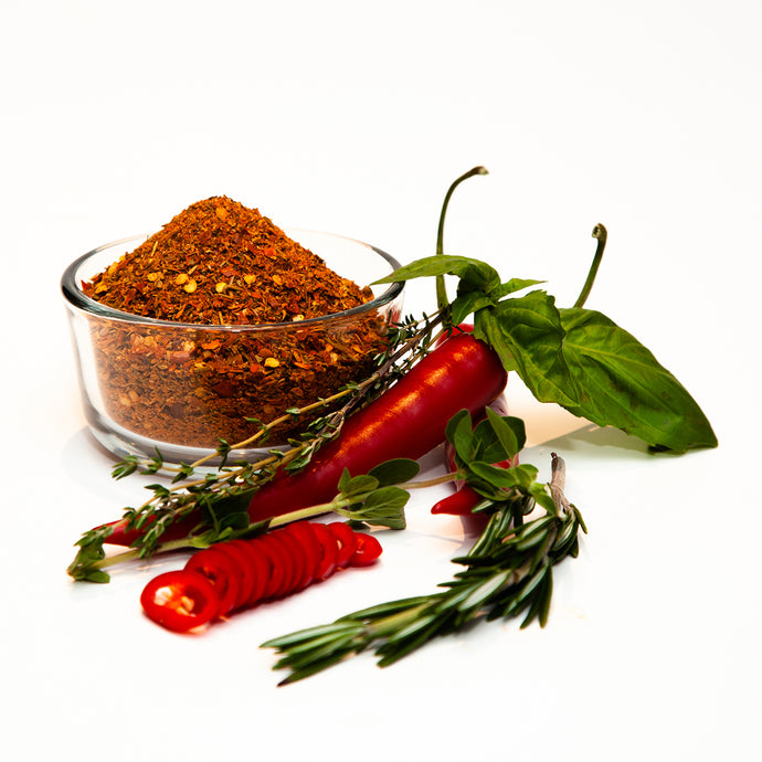 Spicy Italian Sausage Seasoning - Robust Italian seasoning with a 'Drop KiK' of heat